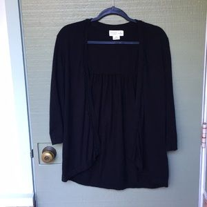 KATE SPADE ♠️- black cardigan size medium